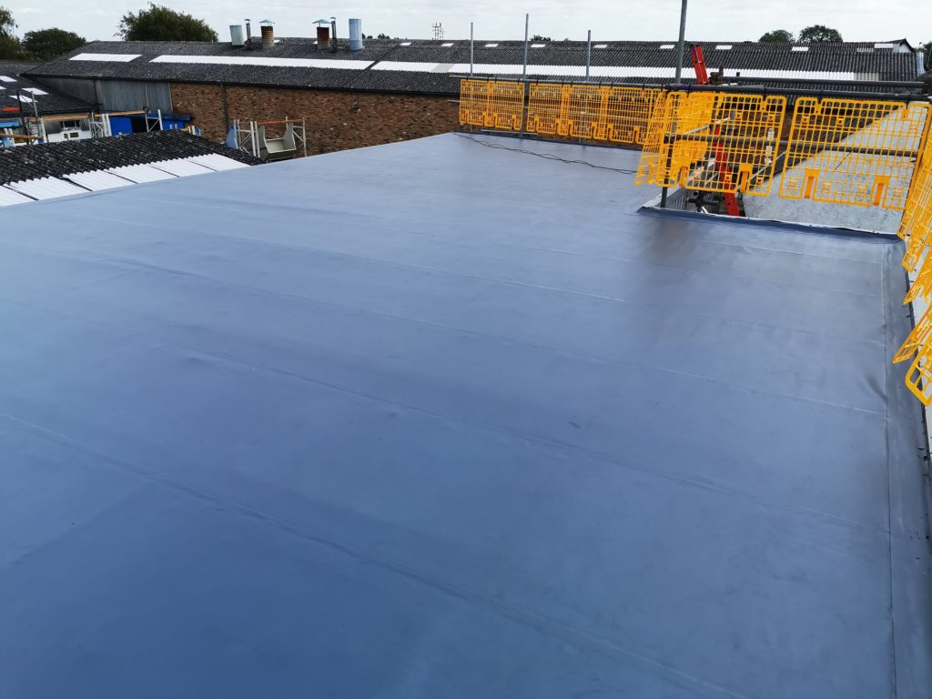 Flat Roof In Ely